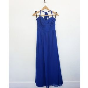 Blue Alfred angelo formal dreaa